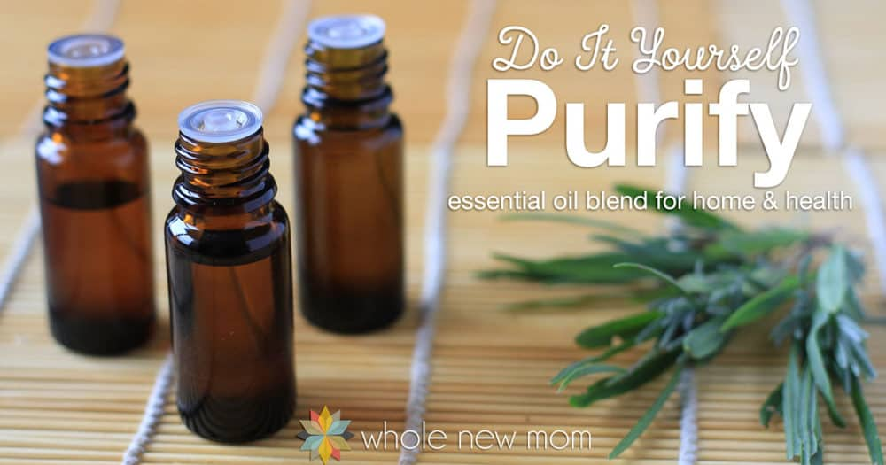 DIY Purification Essential Oil Blend
