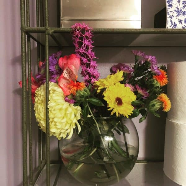 flowers in glass vase for how to make cut flowers last longer post