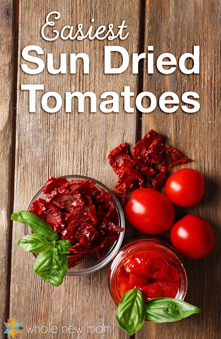 Do you love Sun Dried Tomatoes but don't love the price? Here's how to make your own - easily and on the cheap!