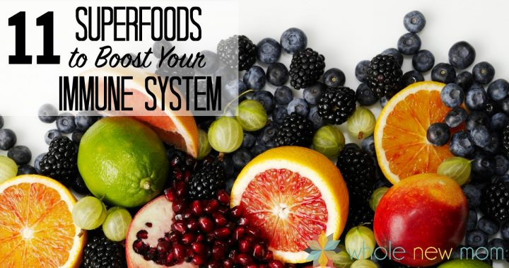 fruits on a white background -- Superfoods to Boost Your Immune System