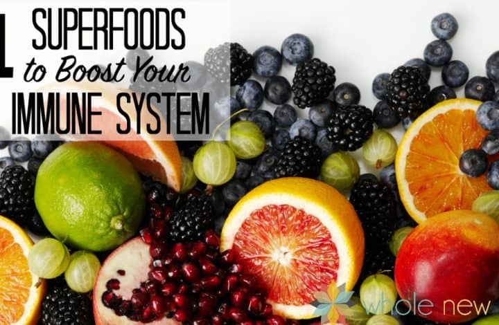 Eat these 11 Nutrient-Dense Superfoods to help Boost Your Immune System and ward off colds and flu!