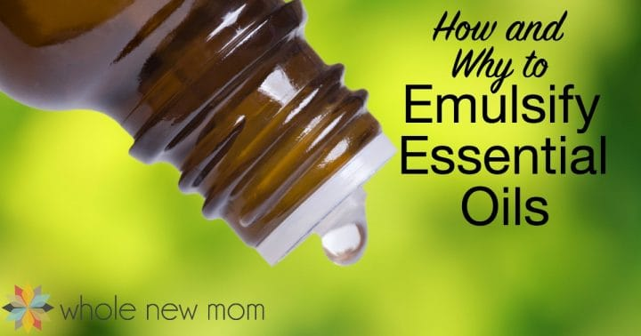Essential Oil Emulsifier - How to Emulsify Essential Oils