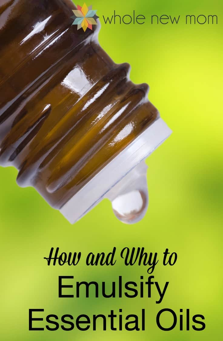 Have you heard about Essential Oil Emulsifiers? If you're using essential oils, you need to know what an essential oil emulsifier is -- your health could depend on it!