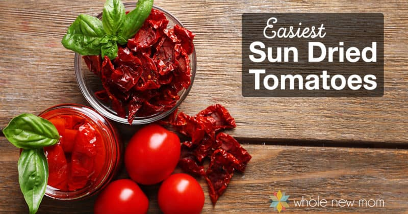 I love Sun-dried Tomatoes but they are sooo expensive! Here's how to make Easy Homemade Sun-Dried Tomatoes!