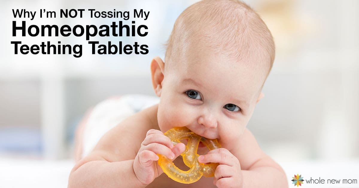 Have you heard about the FDA warning about homeopathic teething tablets? Here's my take on the whole thing and why I'm not tossing my tablets.