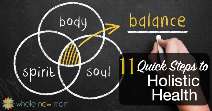 "Learn How to Get Holistic Health with these 11 tips because Healthy isn't just about being thin and ""buff""-- it's about your Body, Spirit, and Soul."