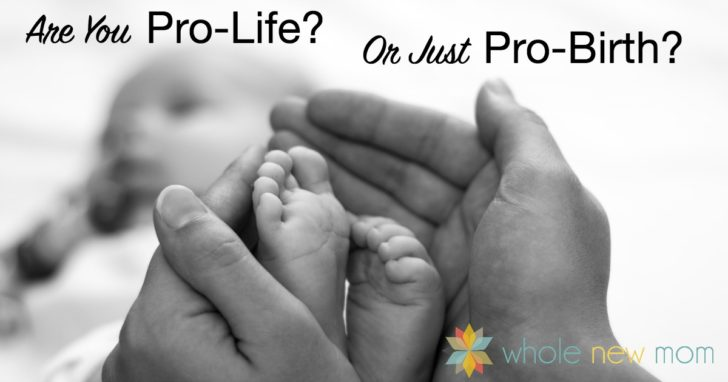 Are You Pro-Life? (or Just Pro-Birth?)