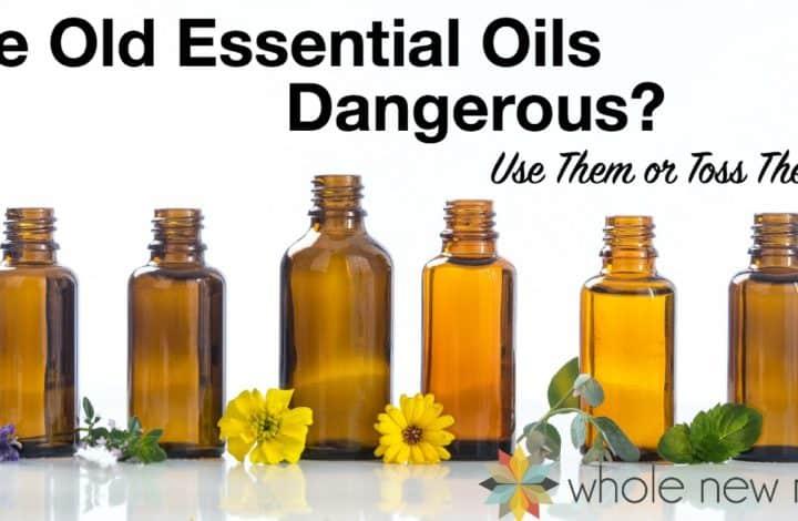 Essential Oil Bottles - Shelf Life of Essential Oils