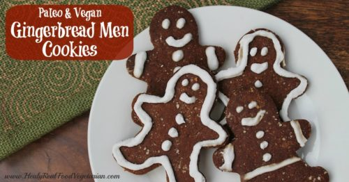 Paleo Vegan Gingerbread Cookies