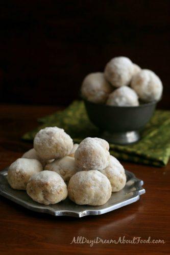 Walnut Cardamom Snowballs