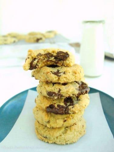 Grain-Free Chocolate Chunk Cookies