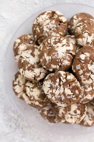 Grain-Free Chocolate Crinkles