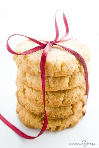 4-Ingredient Gluten-Free Shortbread Cookies