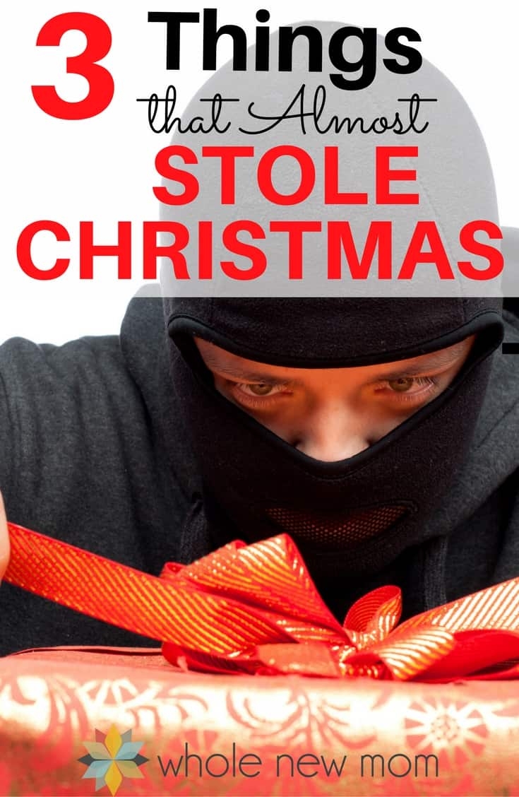 In the spirit of the Grinch that Stole Christmas, a bunch of not so great things threatened to steal Christmas from us. But did they succeed?