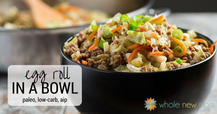 Egg Roll in a Bowl – low carb, paleo, AIP