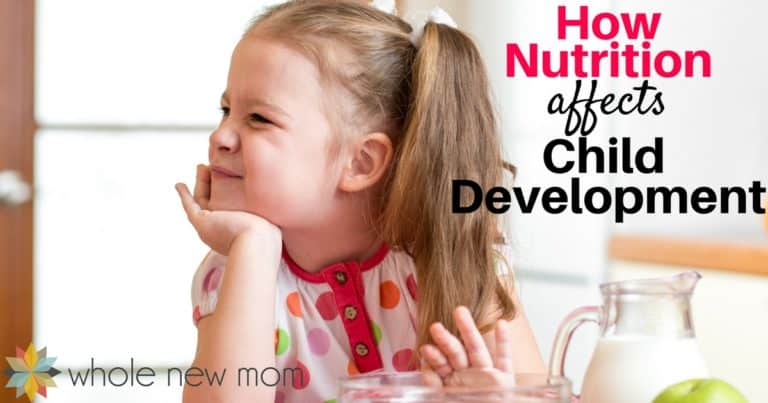Nutrition Affects Child Development in Many Ways. Find out what you need to know so that your child can grow up as healthy as possible.