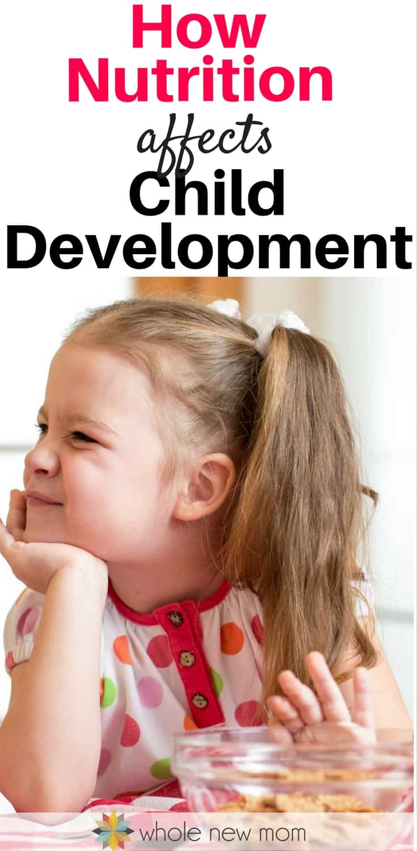 How diet impacts childhood development essay