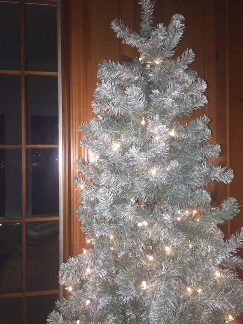 """Silver Pine Christmas Tree - for the post """"3 Things that Almost Stole Christmas"""""""