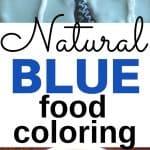 Natural Food Coloring | Natural Blue Food Coloring