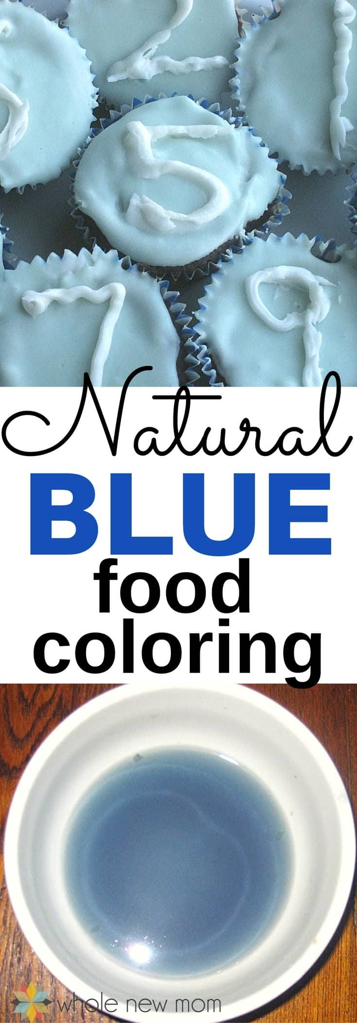 How to make Natural Blue Food Coloring. You'll be amazed at what food the blue color comes from!