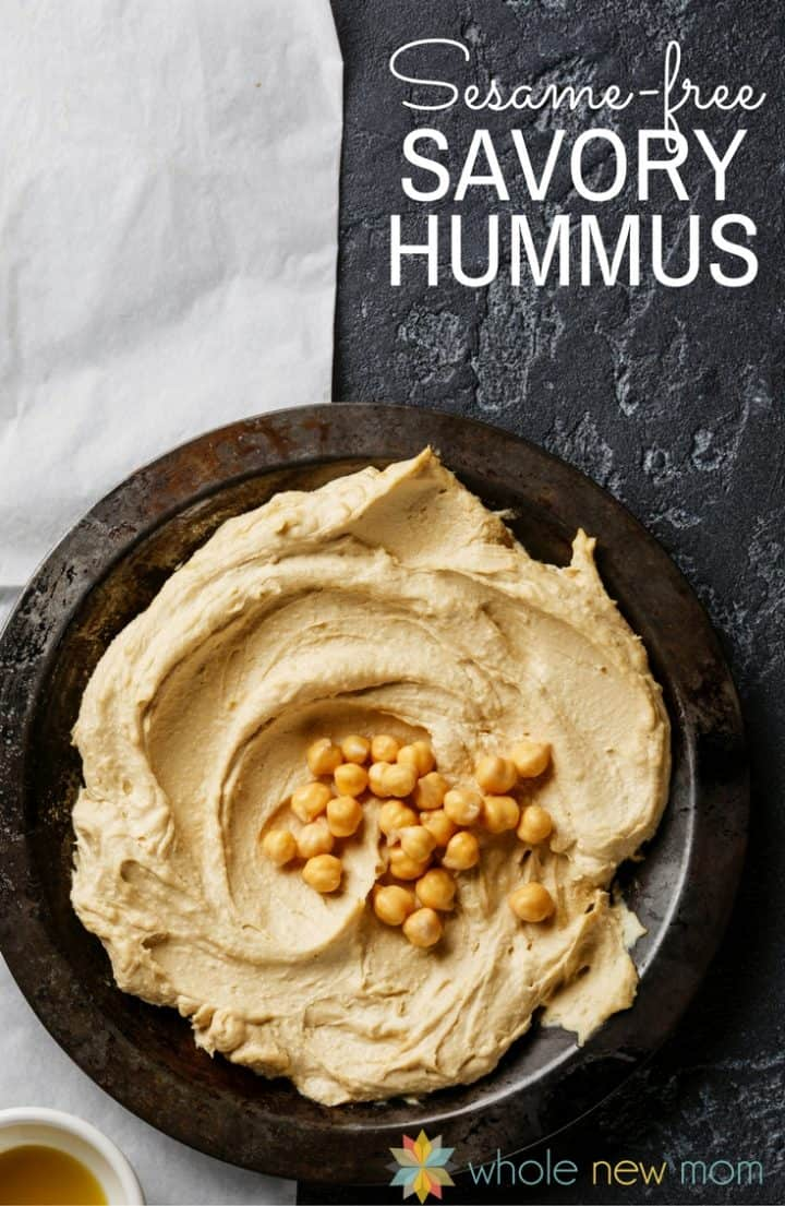 This Sesame-free Hummus is one of our all-time favorite recipes. Loaded with health ingredients and savory spices, you'll love the flavor!