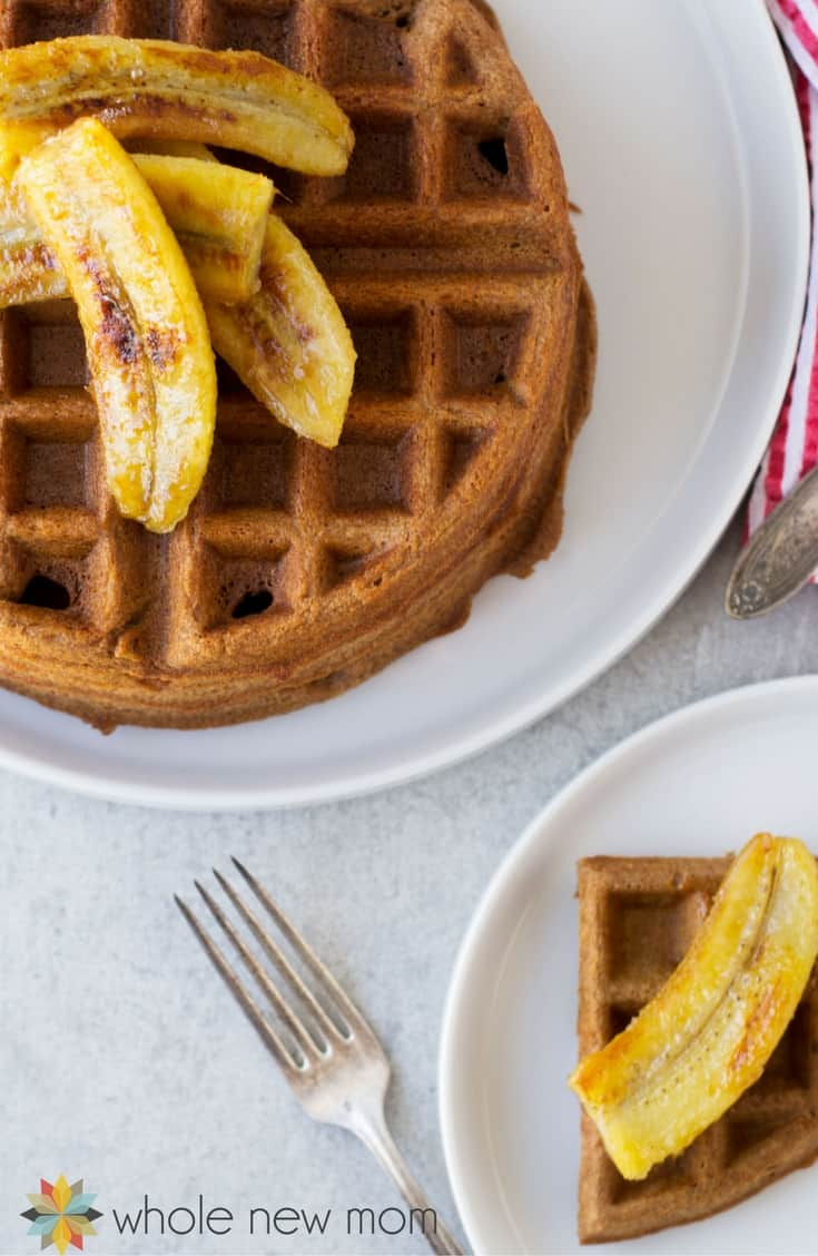 This teff waffles recipe is a great gluten-free waffle recipe that tastes like chocolate! Easily made into pancakes they can be vegan too!