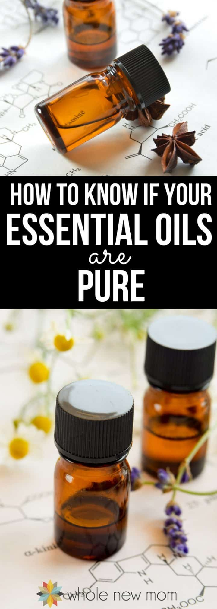 Pinterest collage for How To Know If Your Essential Oils Are Pure post
