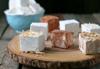 Homemade Marshmallows? Yes, please! Fun to make -- Sugar free and low carb to boot!