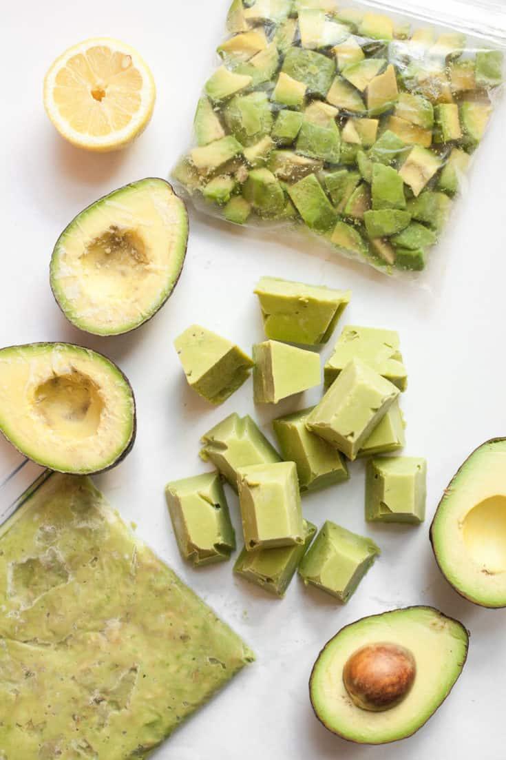 freezing avocados u2013 the how tou0027s - Can You Freeze Pears