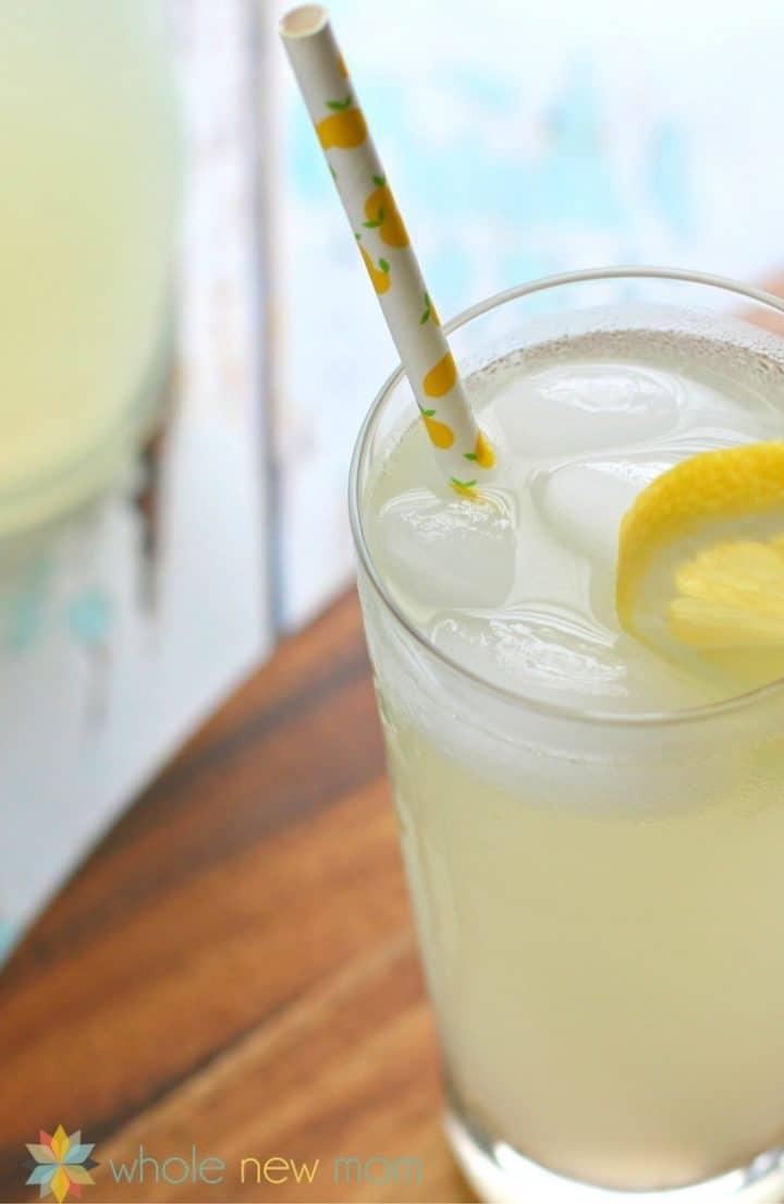 Refreshing Homemade Sugar-Free Lemonade