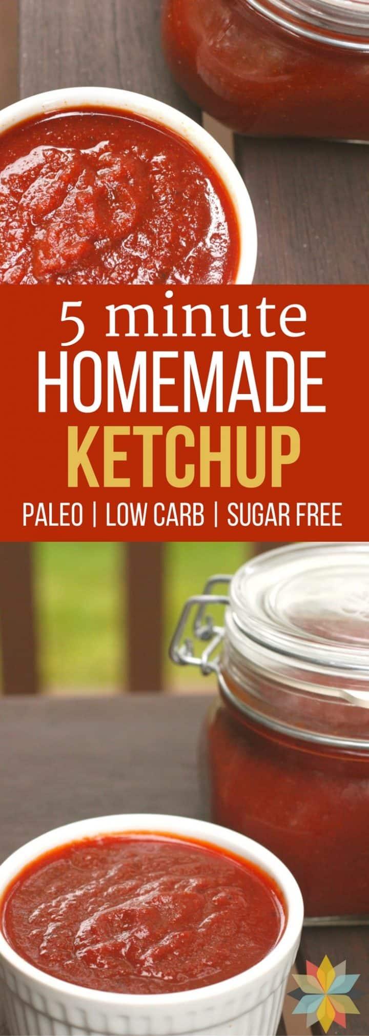 Easy Homemade Ketchup Recipe
