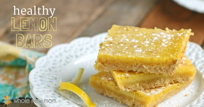 Healthy Paleo Lemon Bars - Gluten-free Lemon Bars
