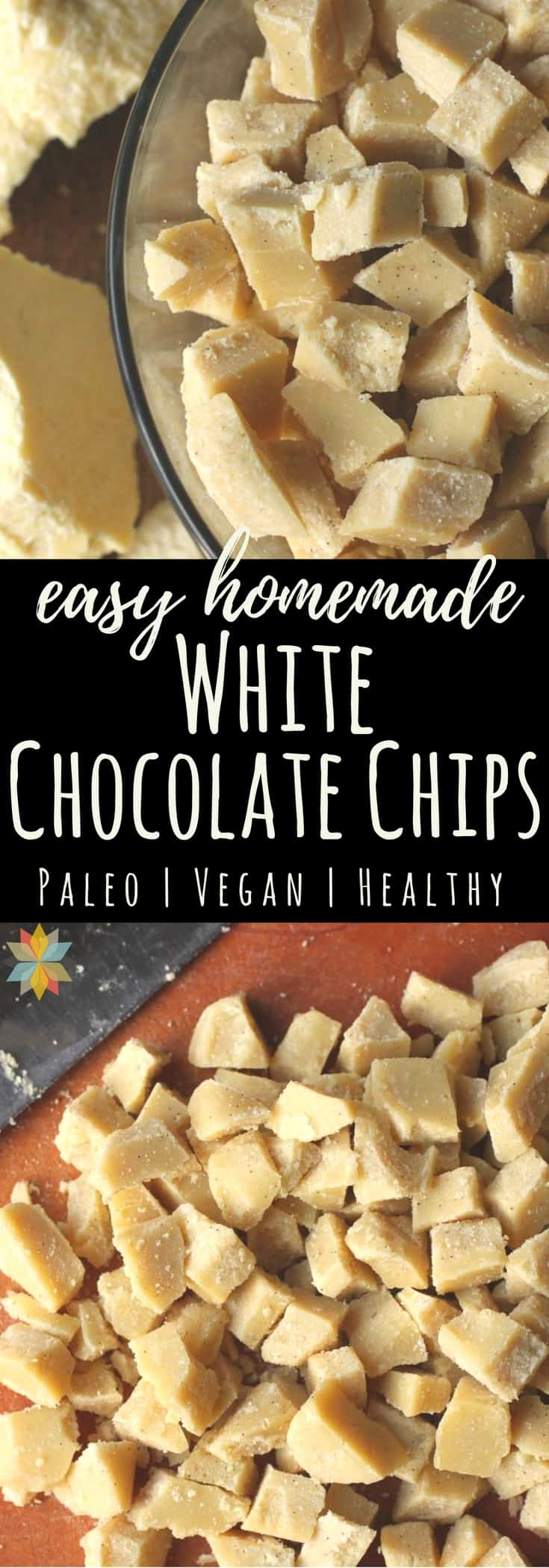 White Chocolate Chips (dairy, soy, and sugar free)