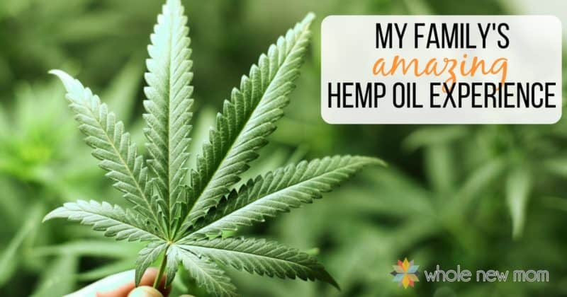 Hemp Leaf - our family's CBD experience