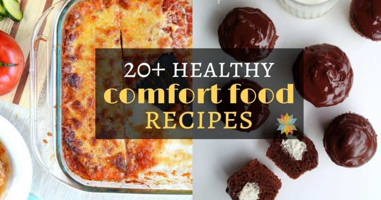 Healthy Comfort Foods - gluten-free with vegan and low-carb options