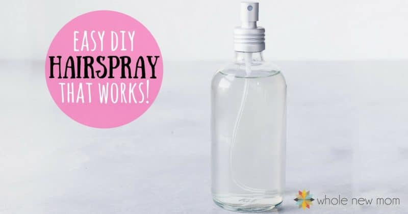 Homemade Hairspray / DIY Hairspray