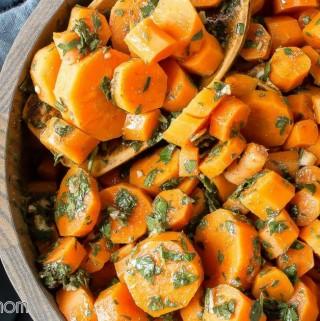 Moroccan Carrots - kid friendly, vegan, paleo, whole30, gluten free, healthy