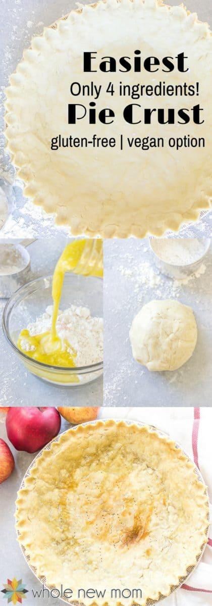 Easy Pie Crust process photos
