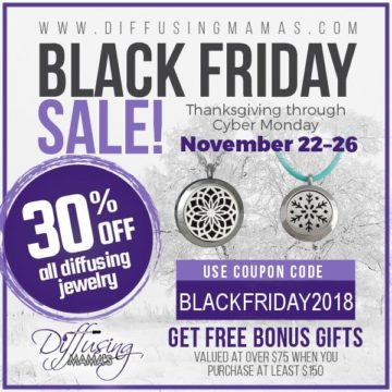 Diffusing Mama's Black Friday Sale