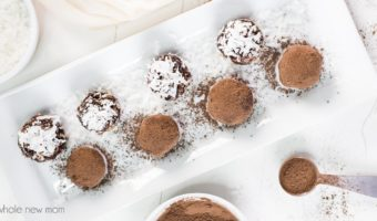 Chocolate Avocado Truffles - paleo, keto, vegan, low carb, dairy free, THM, AIP