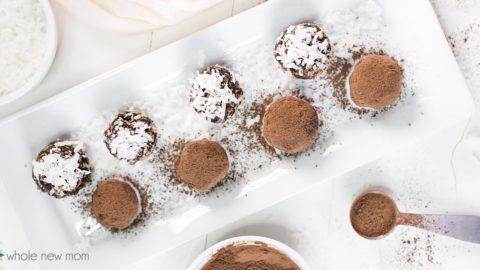 Chocolate Avocado Truffles - paleo, keto, vegan, low carb, dairy free, THM, AIP