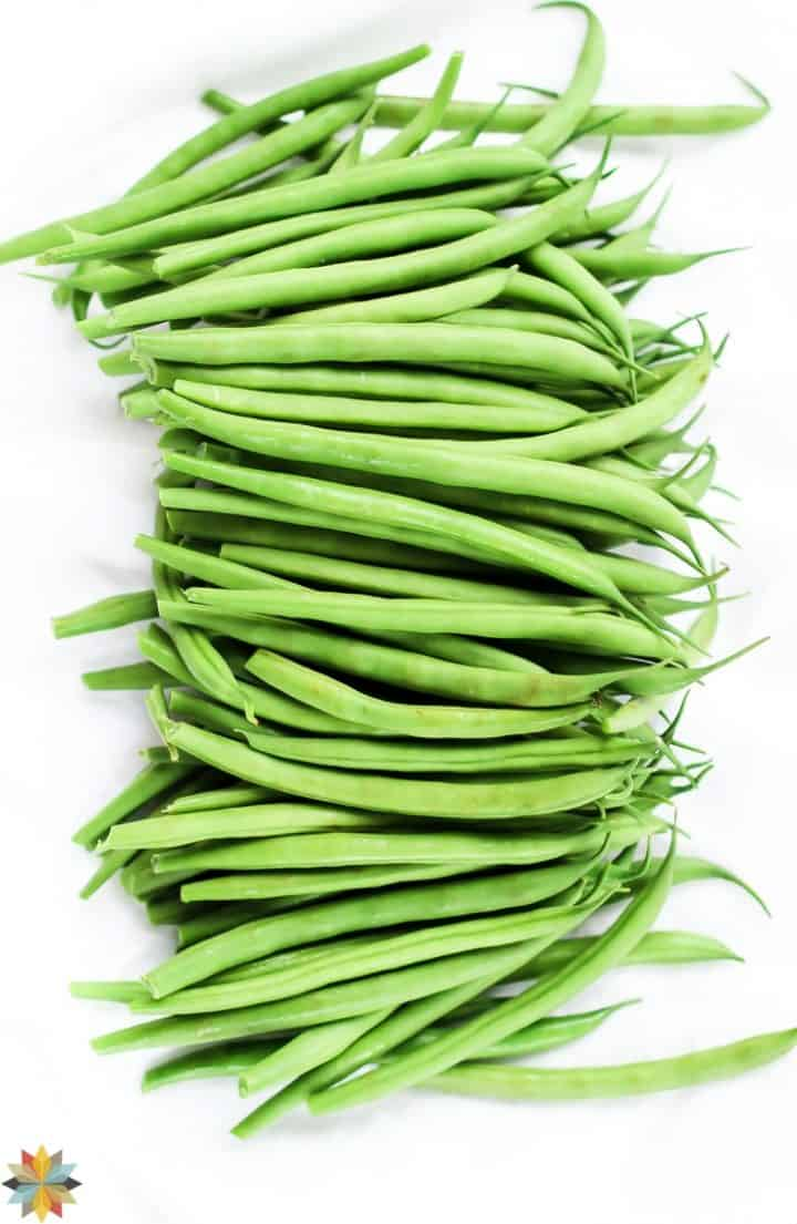 Fresh Green Beans for Healthy Green Bean Casserole