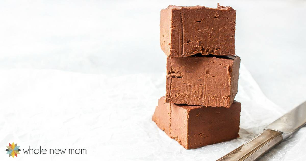 Healthy Bean Fudge - gluten free, grain free, dairy free, sugar free, vegan