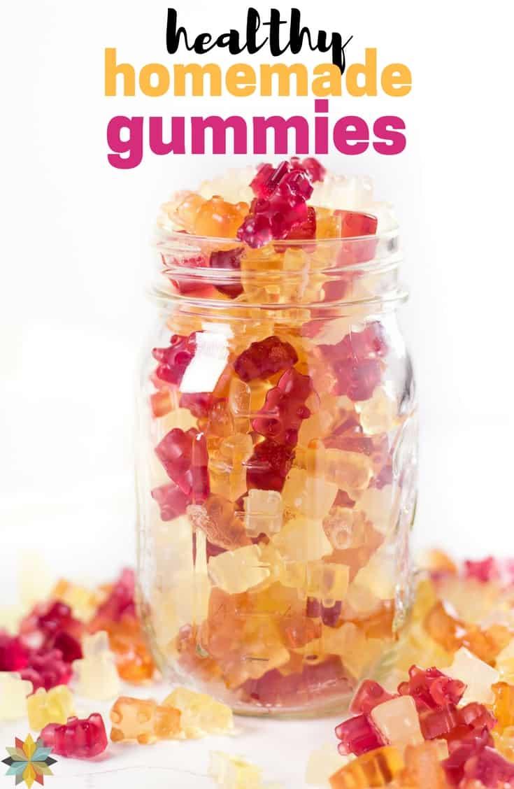 Homemade Gummies - keto, low carb, paleo, AIP, sugar free