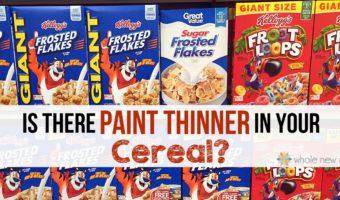 Trisodium Phosphate in Cereal | Trisodium Phosphate in Food
