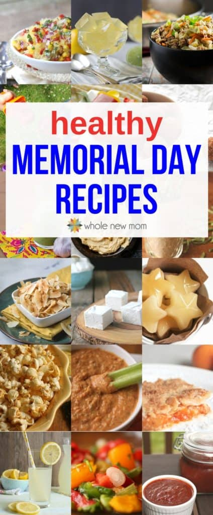Healthy Memorial Day Recipes - gluten free with keto options