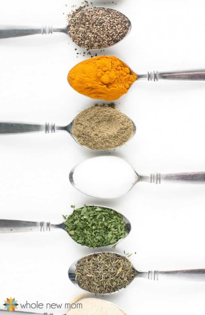 Vegetable Broth Powder Ingredients