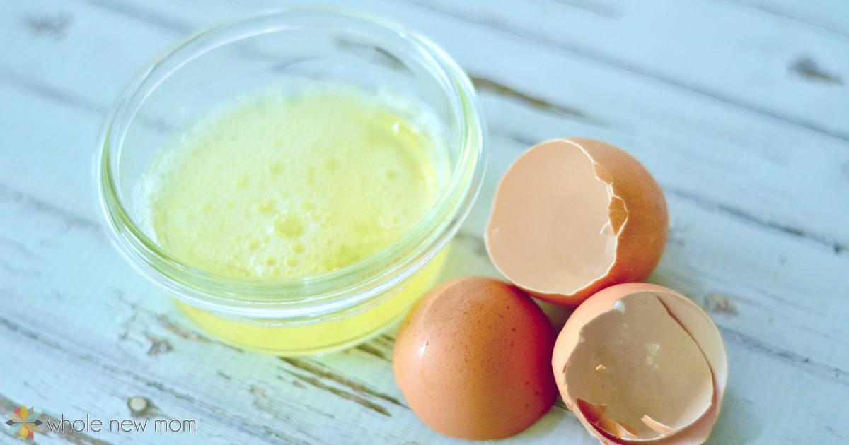 Egg White Hair Mask