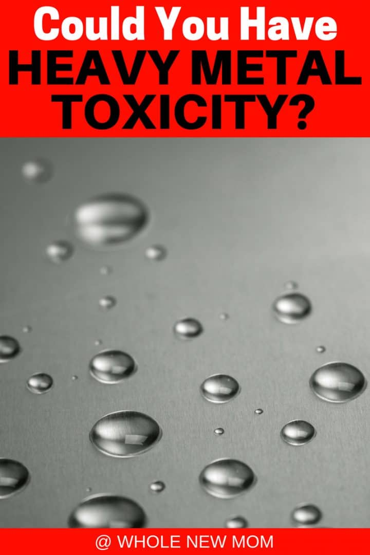 Mercury drops - Heavy Metal Toxicity