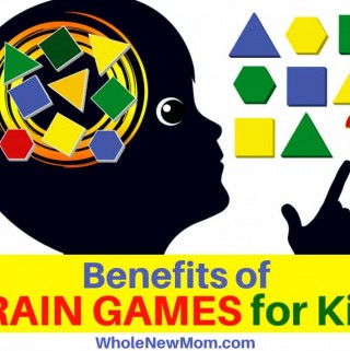 Brain Games for Kids - Child Trying to Answer a Puzzle